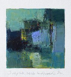 https://flic.kr/p/Jzhthn | july262016 | Oil on canvas  9 cm x 9 cm  © 2016…