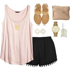 What a cute summer outfit!
