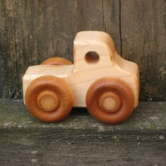 Little Wood Toy Truck  Kids Wooden Toys by WoodToyShop on Etsy, $7.00