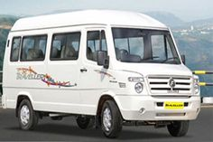 16 Seater Tempo Traveller available for hire in Delhi, call us at 9810777770!