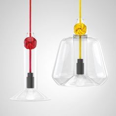 Looking forward to seeing the Knot Pendant Lamp by Vitamin, Clerkenwell Design Week 2013