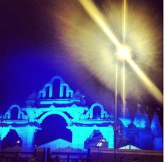 @Krishna Mistry Neasden temple @The ARC Show #londonlights