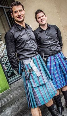Kilted Doormen at the Gand V Hotel in Edinburgh.