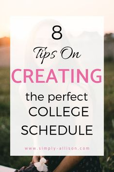 8 Tips for the Perfect College Schedule You know class registration is a stressful time period. This post gives you 8 tips help make the ideal college Freshman Quotes, College Freshman Tips, College Dorm Essentials, College Life Hacks, Scholarships For College, College Fun, College Students, College Packing, University Essentials