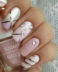 Pastel Pink Nails ♡♥♡♥♡♥ #beauty #nails #pink #pastel