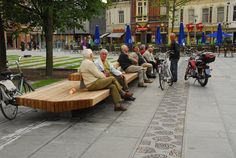 The Hill Square in Tilburg by Buro Sant en Co Landscape Architecture