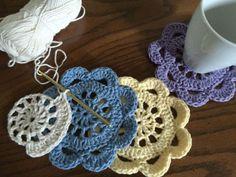 Floral Coaster By Regula - Free Crochet Diagram - (babajeza.wordpress)