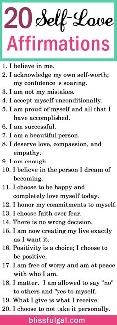 Self-love and affirmations quotes can be the perfect remedy to create a happier life. These affirmations for happiness are just what you need for self-improvement. Self-love quotes / Self-love tips health_tips, motivation, Affirmations For Happiness, Affirmations Positives, Self Love Affirmations, Miracle Morning Affirmations, Healthy Affirmations, Positive Affirmations For Anxiety, The Words, Motivacional Quotes, Life Quotes