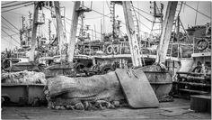 Agadir Port - Morocco | Sony Nex-7 | Carl Zeiss Sonnar T* 1.8/24 E-mount Agadir, Zeiss, Sailing Ships, Morocco, Sony, Photography, Black N White, Fotografie, Photography Business