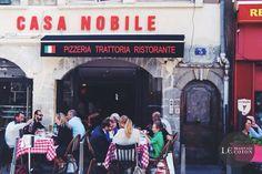 BONNE ADRESSE # Le Casa Nobile. 3 place de l'Hôpital, Lyon 2e – 04 78 03 02 54 Ouvert midi et soir tous les jours sauf dimanche.
