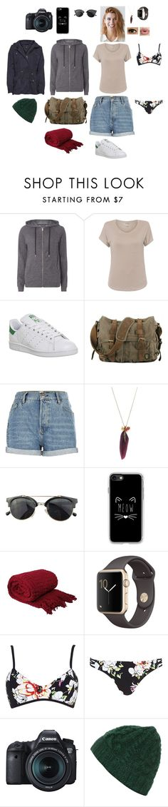 """Sans titre #1827"" by leacousty55 ❤ liked on Polyvore featuring Dorothy Perkins, Majestic Filatures, adidas, River Island, Chicnova Fashion, Casetify, Sephora Collection and Eos"