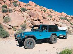 Jeep Cj, Old Jeep, Jeep Scrambler, Adventure Trailers, Custom Jeep, Roof Top Tent, Leaf Spring, Transfer Case, Aluminum Radiator