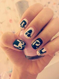 My B.A.P. nail art ^-^ #kpop nails