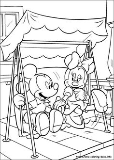 Mickey Mouse Coloring Pages Printable - Free Coloring Sheets Minnie Mouse Coloring Pages, Cartoon Coloring Pages, Disney Coloring Pages, Christmas Coloring Pages, Coloring Book Pages, Free Coloring Sheets, Free Printable Coloring Pages, Coloring For Kids, Minnie Mouse Christmas