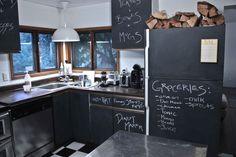 DIY // Chalkboard Kitchen — Treasures & Travels