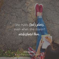 The world tells girls that not knowing is foolish, but our girls know that there is always someone she can trust who has the answers to everything—Jesus! Encouraging Scripture Quotes, Bible Verses, Trust Gods Plan, The Answer To Everything, Important Quotes, Bible Verse Wallpaper, Godly Woman, Daddys Girl, Spiritual Life