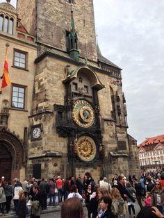 Astronomical Clock in Praha Prague Astronomical Clock, San Francisco Ferry, Big Ben, Tower, Building, January, Travel, Voyage, Lathe
