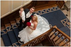 Gosfield Hall Wedding Venue - Our glorious stairs