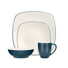 Noritake® Colorwave Square Dinnerware Collection in Blue