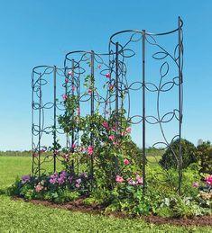 Garden Obelisk Trellis – Ideas on Foter - Alles über den Garten Obelisk Trellis, Trellis Panels, Diy Trellis, Garden Trellis, Trellis Ideas, Obelisks, Trellis Design, Plant Trellis, Leaf Design