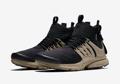 timeless design 628fe fb308 The ACRONYM x Nike Presto Mid Releases This Week