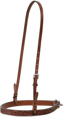 Other Western Tack 47301: Weaver Leather Carved Chestnut Horse Noseband -> BUY IT NOW ONLY: $34.6 on eBay!