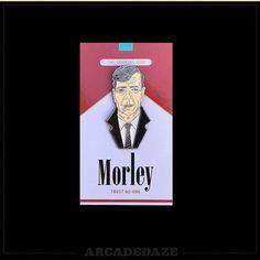 Morley [Smoking Man] Lapel Pin