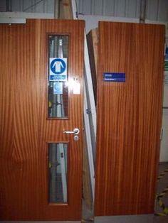Fire door + Window No 45 £10.00 http://recipro-uk.com #building supplies