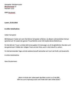 kondolenzschreiben vorlage - Grundstuckskaufvertrag Muster
