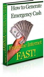 How To Generate Emergency Cash From The Internet FAST Plr Ebook - Download at: http://www.exclusiveniches.com/how-to-generate-emergency-cash-from-the-internet-fast-plr-ebook.html #ExclusiveNiches #Cash #Niche #Plr #Ebook #Marketing #Content #ContentMarketing