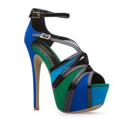 a strappy sandal
