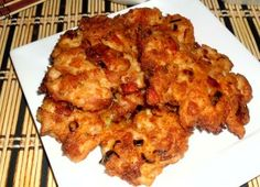 Kuřecí placičky od dědy Cooking Light, Cauliflower, Chicken, Vegetables, Bude, Food, Diet, Cauliflowers, Essen
