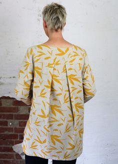 Schnittmuster FAYE: Bluse nähen für große Größen
