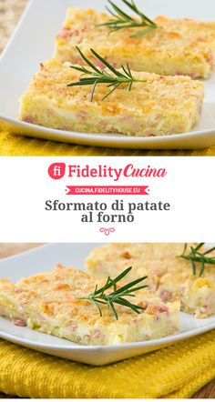 Sformato di patate al forno All U Can Eat, Weekly Dinner Menu, Oreo Cheesecake, Beer Recipes, Antipasto, Frittata, Gnocchi, Italian Recipes, Risotto
