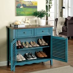 Furniture of America Faite Country Style Hallway Chest | Overstock.com Shopping - The Best Deals on Coffee, Sofa & End Tables
