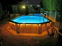 Discover 30 above ground pool deck ideas for your inspiration. Pictures of above ground pools with decks around them. Above ground swimming pool decks plans. Swimming Pool Decks, Swimming Pool Landscaping, Above Ground Swimming Pools, Swimming Pool Designs, In Ground Pools, Backyard Landscaping, Landscaping Ideas, Backyard Ideas, Backyard Pools