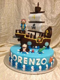 Torte e biscotti per pirati - Cakemania, dolci e cake design