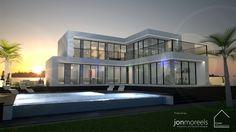 Villa Calle Londres - 4 Bedroom Villa design for Cosan Development, Spain