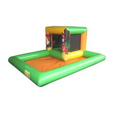Playzones, Ball Ponds & Soft Play : Small Playzone Jungle Theme AQ2807J www.airquee.co.uk