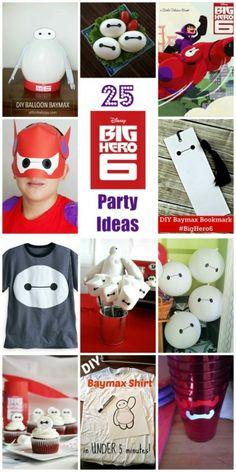 25 Ideas para fiestas de temática Big Hero 6 de Disney - 25 Disney Big Hero 6 party ideas. BabyCentre Blog