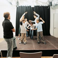 Tableau, the theatrical technique in which actors freeze in poses to create a picture of one important moment, is an arts integrated teaching strategy.