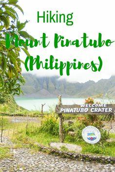 Hiking Mount Pinatubo, Philippines