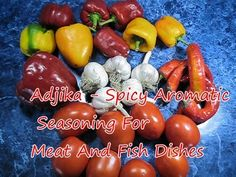 Adjika Spicy Aromatic Seasoning For Meat And Fish Dishes - Easy Recipe Tutorial - YouTube