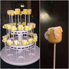 Beer Mug Marshmallow Pops