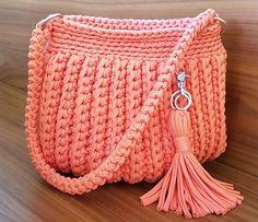 Crochet T-shirt Purse