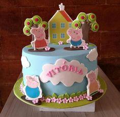 O Pig Cakes, Peppa Pig, Desserts, Food, Tailgate Desserts, Deserts, Essen, Postres, Meals