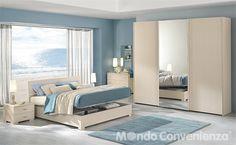 Armadio cecilia mondo convenienza arredamento camera for Camere da letto matrimoniali complete miglior prezzo