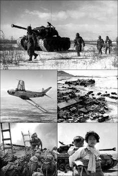 The Korean War (Korean: 한국전쟁 or 조선전쟁, Hanja: 韓國戰爭 or 朝鮮戰爭; 25 June 1950 – 27 July 1953