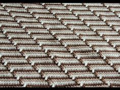 Crochet : Punto Maravilloso (Groovyghan) - YouTube