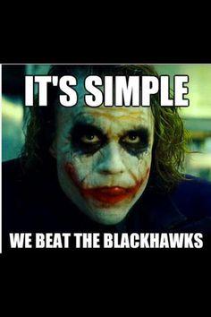 Just beat the hawks